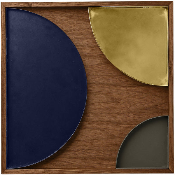 Tray Unity large crescent, different colors AYTM Accessory - Nordic Design Home
