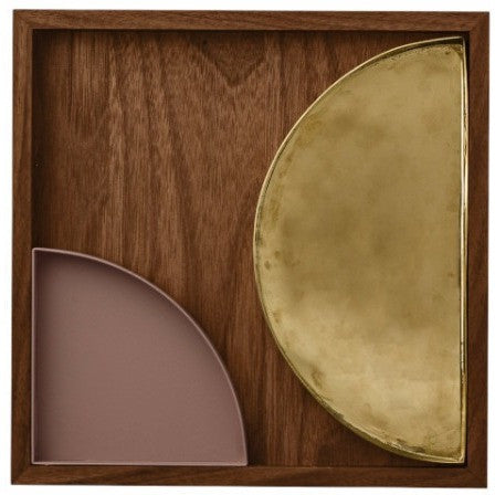 Tray made of Unity walnut, different sizes AYTM Accessory - Nordic Design Home