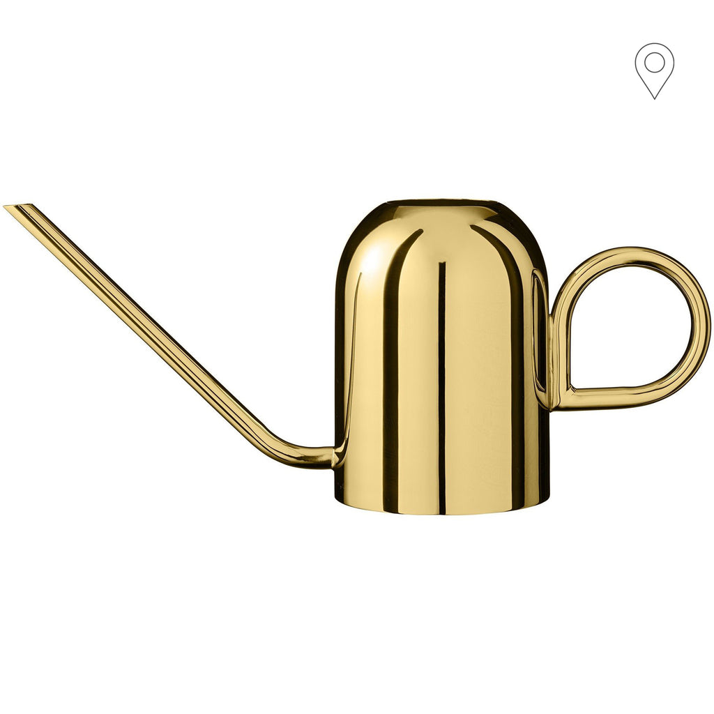 Watering can Vivero, brass