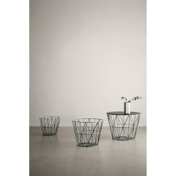 Tile Wire Basket Top, different finishes and sizes - Nordic Design Home