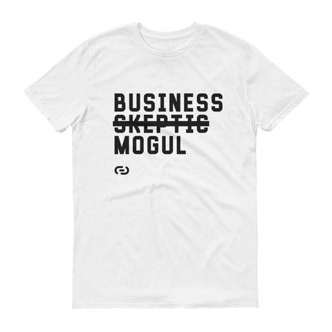 Business Mogul (White) T-Shirt