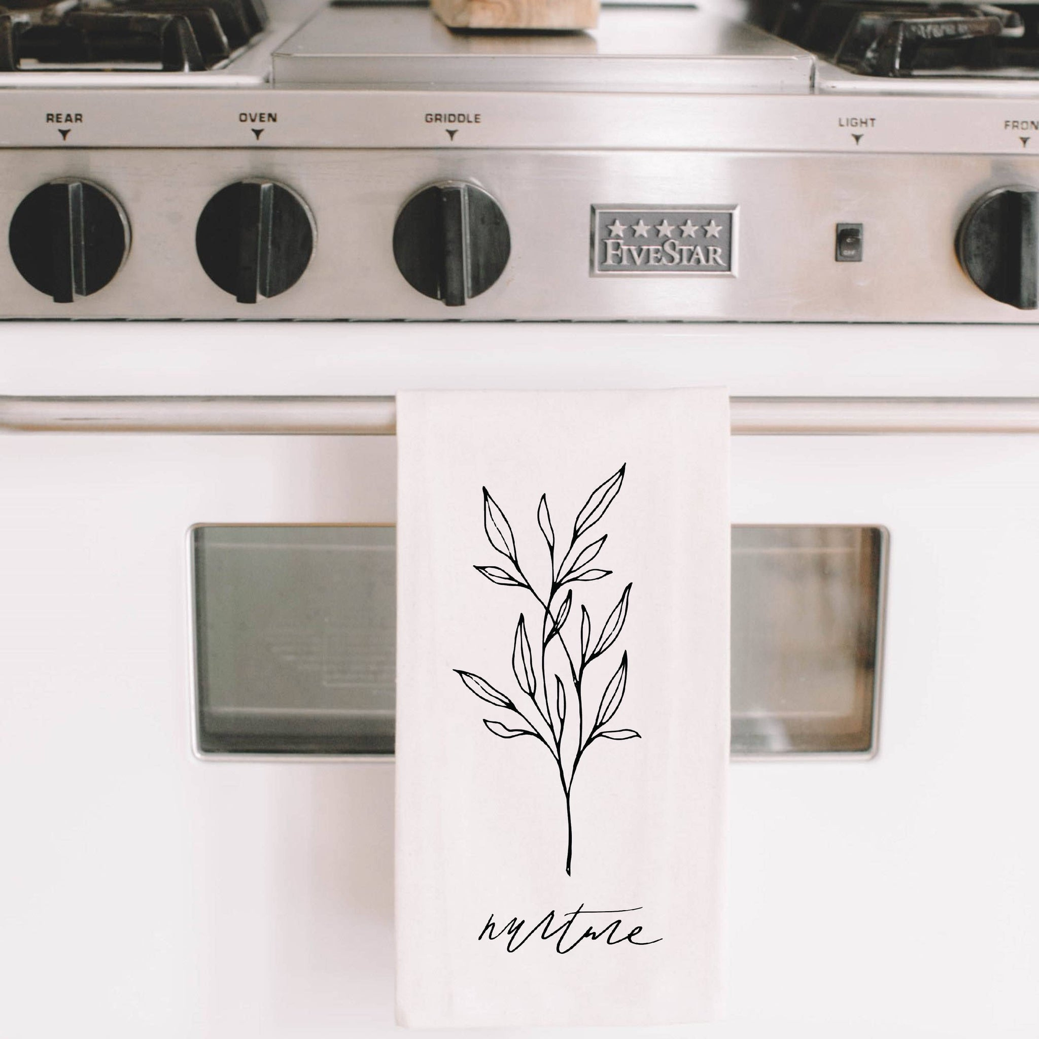 Nurture Wildflower Tea Towel