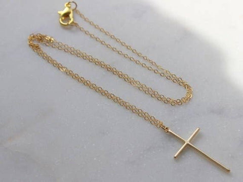 Laalee Jewelry - Gold Cross Necklace
