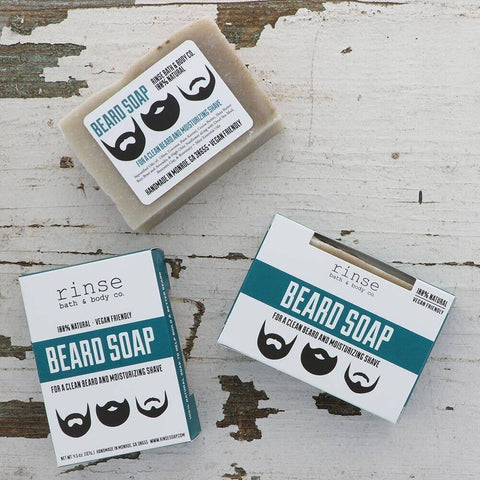 Rinse Bath Body Inc - Beard Bar Facial Soap
