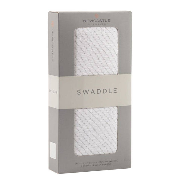 Newcastle Classics - Spotted Wave Swaddle