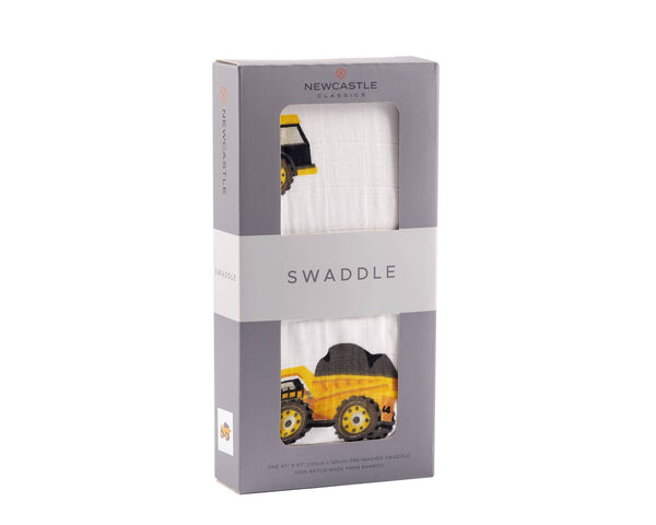 Newcastle Classics - Yellow Digger Swaddle