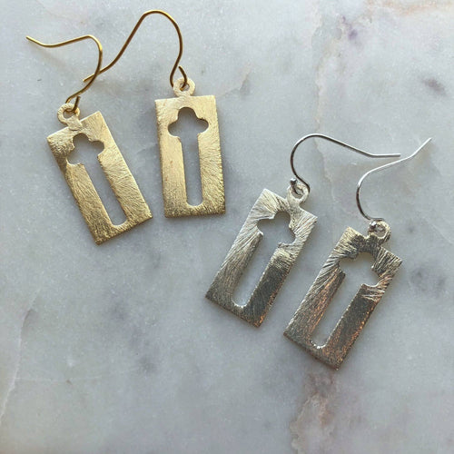 Laalee Jewelry - Cross Earrings