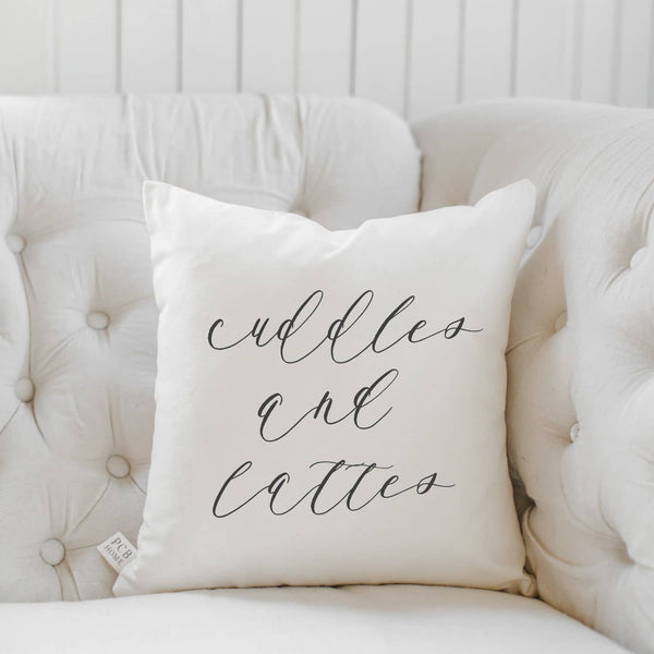 Cuddles and Lattes Pillow