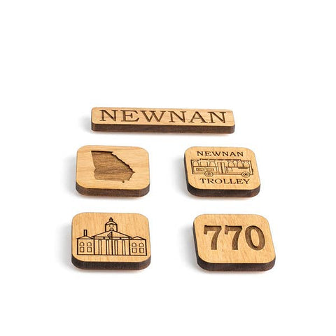 Newnan Georgia Magnet Set