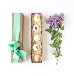 The Little Flower Soap Co - Bath Bombs Gift Set of 5