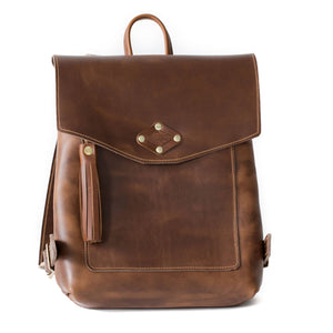 Ladies Rucksack Genuine Leather
