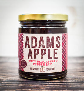 Adams Apple Mercantile - Adams Apple Spicy Blackberry Pepper Jam
