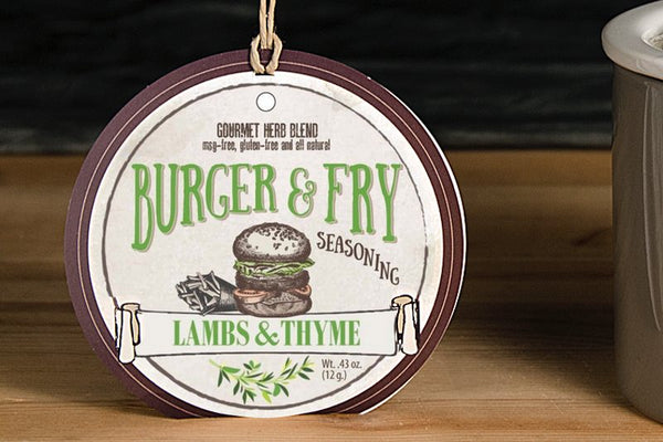 Lambs & Thyme - Burger and Fry Seasoning - Half Dozen