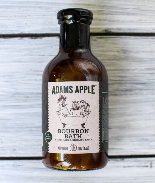 Adams Apple Bourbon Bath (A Marinade & Grilling Sauce)