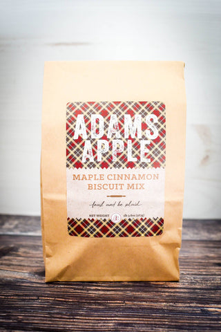 Adams Apple Mercantile - Adams Apple Maple Cinnamon Biscuit Mix