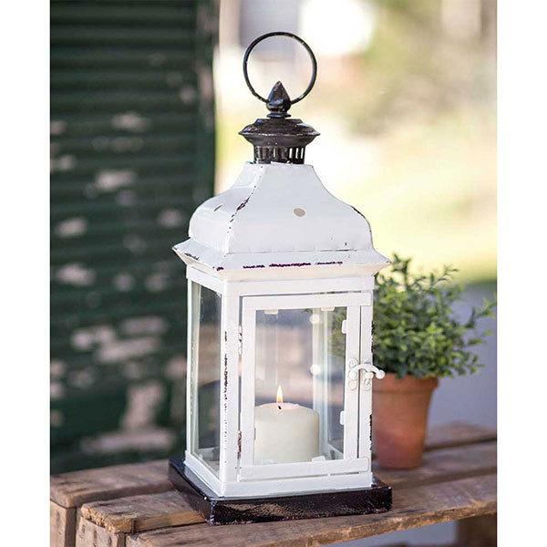Arabesque Lantern | White Lantern