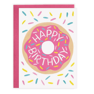 Donut - Birthday Card