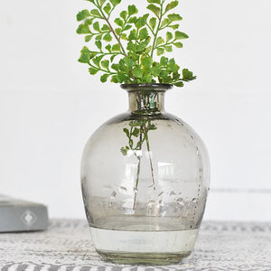 "7"" GLASS BUD VASE"