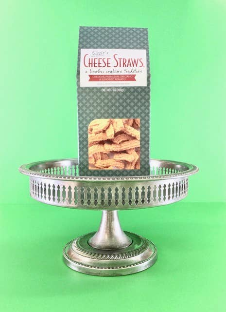 Lizzie's Cheese Straws - 7 oz Parmesan Cheddar Cheese Straws