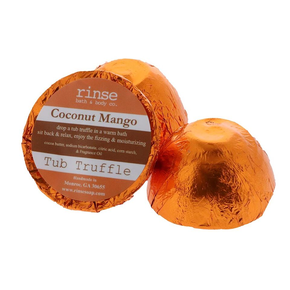 Rinse Bath Body Inc - Tub Truffle - Coconut Mango