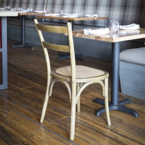 Cane Bottom Cafe Chair