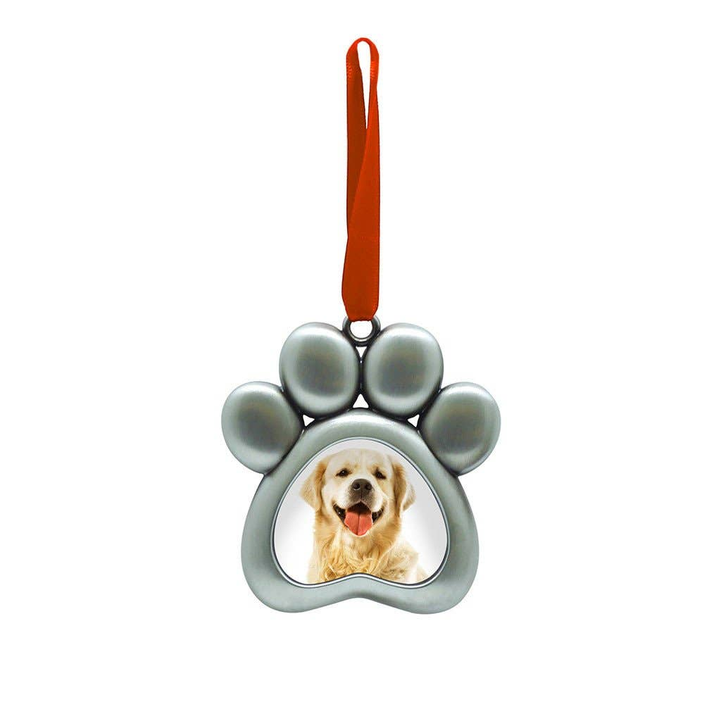 Pearhead - Pet Paw Photo Ornament