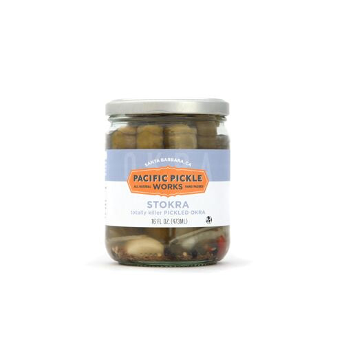 Pacific Pickle Works - Stokra - Pickled Okra Vegetables