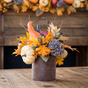 Harvest Party Centerpiece | Gourd and Pumpkin Collection