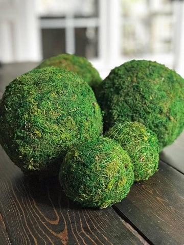 Decorative Moss Balls (Large)