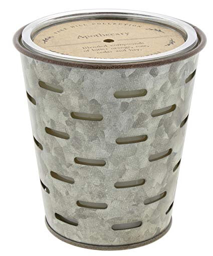 Apothecary Olive Bucket Candle