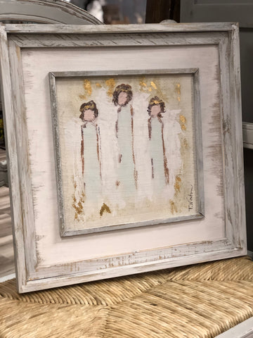 Angel Trio Wall Art