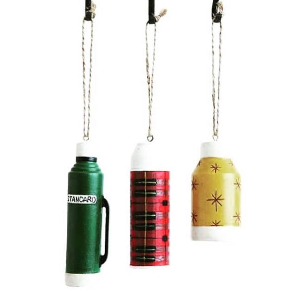 Resin Thermos Ornament