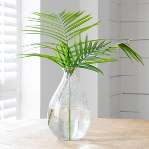 Dylan Organic Seeded Glass Vase - Large