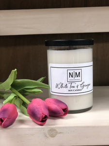 N|M White Tea & Ginger Candle