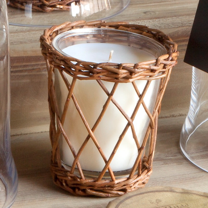 Burlap and Barnwood | Willow Park Hill Candle