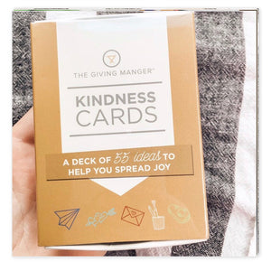 The Giving Manger Kindness Cards