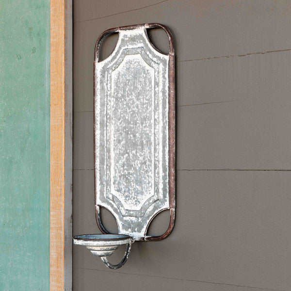 Folding Metal Wall Sconce
