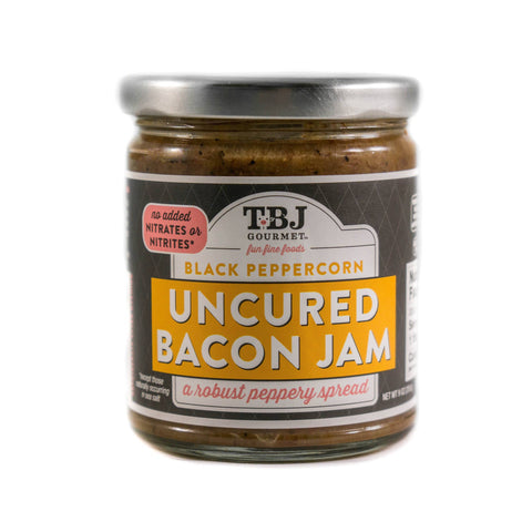 TBJ Gourmet - Black Peppercorn Uncured Bacon Jam
