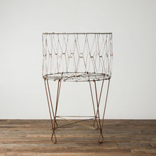 Large Wire Laundry Basket