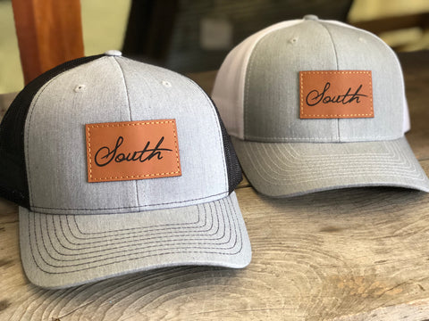 South Leather Patch Hat