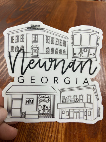 Newnan Sticker