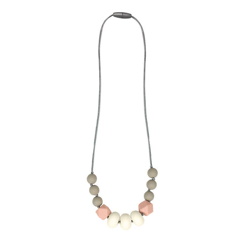 Itzy Ritzy - Teething Necklace Blush