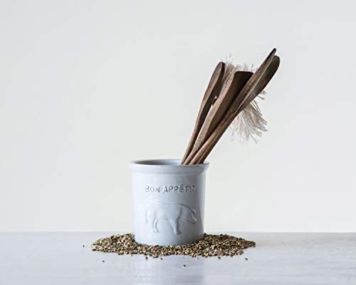 Bon Appetit Stoneware Canister