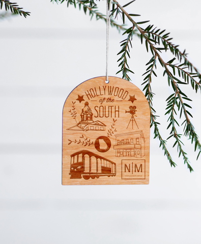 Hollywood of the South Ornament and Newnan Ornament