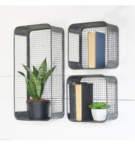Tin wall shelf | 2 sizes