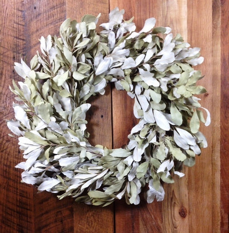 "24"" Dried Mountain Sage Natural Wreath"