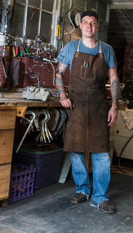 Ryan Schmidt, Blacksmith Metal Artist - Functional Objects, Ornamental Ironwork, Sculptures, and Furniture.