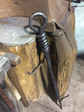 Fireplace Tools by Ryan Schmidt, Blacksmith Metal Art, www.mittysmetalart.com