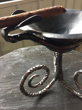 Blacksmith Metal Cigar Ashtray - Shop Online Now - www.mittysmetalart.com