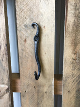 We're all about using the wall for vertical storage! Blacksmith Metal Art by Ryan Schmidt - www.mittysmetalart.com - Shop Online Anytime!